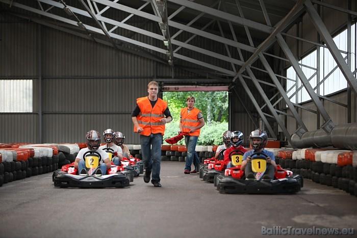 Vēl tiek veidots arī muzejs un vienu eksponātu jau var apskatīt – Latvijā 2002. gadā būvēto sporta auto LOTA