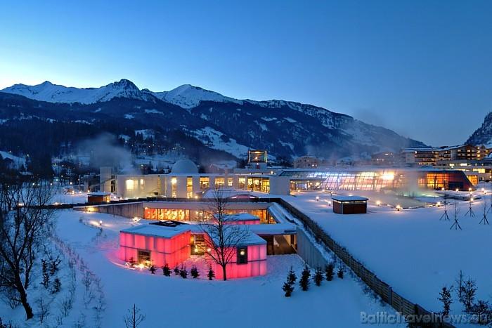 Spa cienītāji ziemas atpūtu var apvienot ar Austrijas termu izbaudīšanu