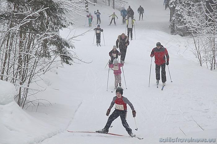 Ogres novada atklātais čempionāts distanču slēpošanā 22.01.2011 - vairāk informācijas www.izturiba.lv