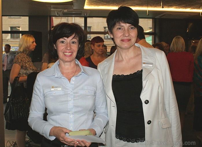 Sandra Trupovniece (Karavella Hotel pārdošanas menedžere) un Svetlana Yusupova (Karavella Hotel mārketinga vadītāja) 63863