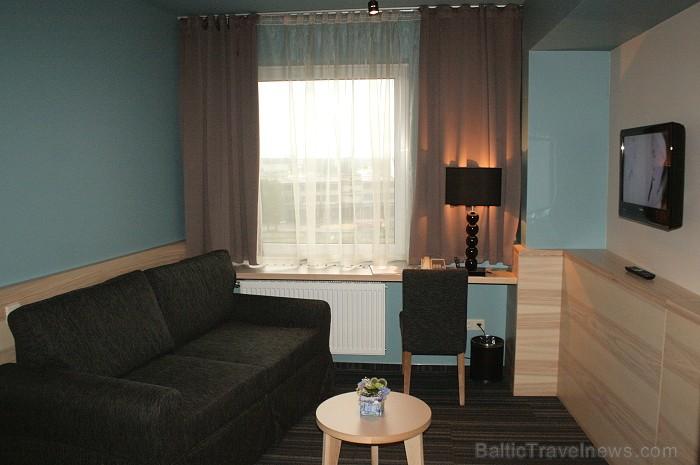 Viesnīca Karavella (www.karavellahotel.lv) prezentē viesu numurus pēc restaurācijas 63906