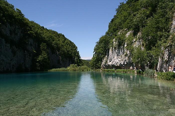 Plitvices ezeri – viena no nedaudzajām vietām pasaulē, kur katru gadu rodas jauni ūdenskritumi, kas savieno ezerus savā starpā
