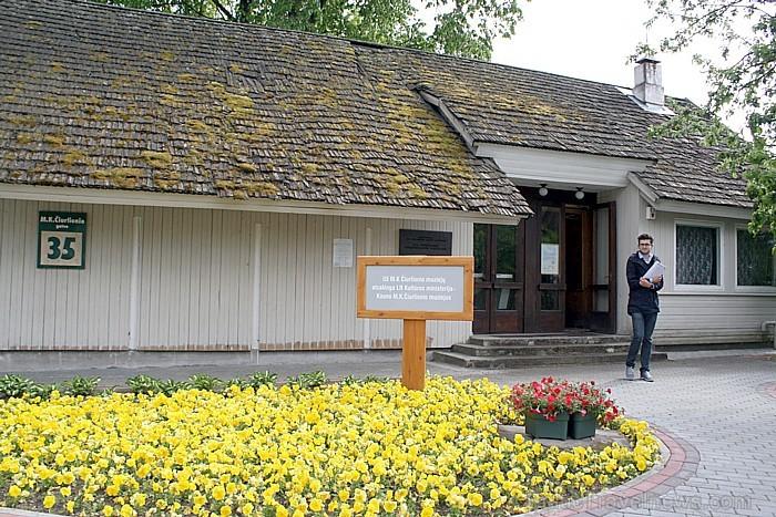 Lietuvas kūrortpilsētā Druskininkai ir izveidots mūziķa un gleznotāja Mikolajus Konstantina Čurļoņa muzejs
