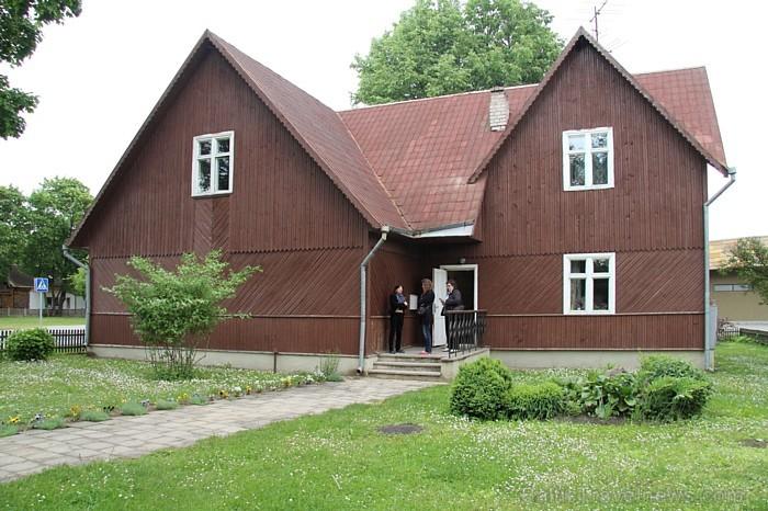 Trešajā muzeja ēkā ir iekārtotas izstāžu zāles