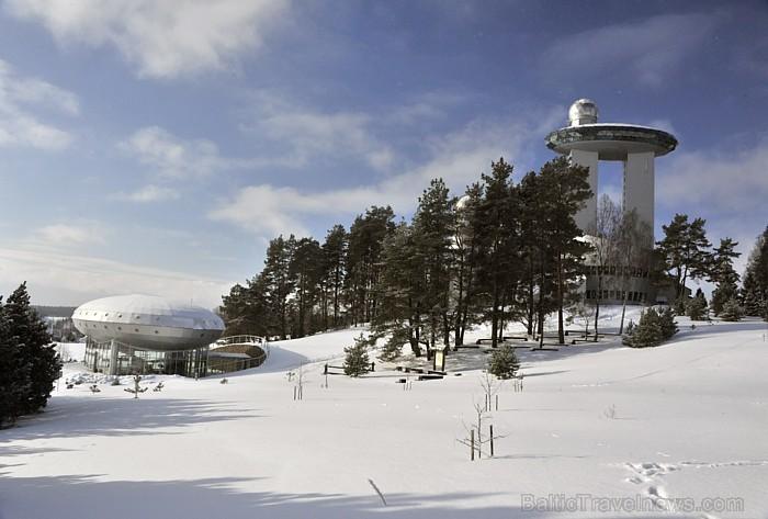 Muzeja būtība – parādīt cilvēka un cilvēces saikni ar kosmisko pasauli. (Foto: www.nikostravel.lv)