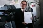 Czech Airlines divdesmit gadu svētku braucienā piedalījās arī reģionālais vadītājs Baltijas valstīs Karel Sucha -  www.czechairlines.lv 7