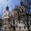 Sv.Nikolaja baznīca ir pirmā jezuītu celtne Prāgā. 1787.gadā pie baznīcas ērģlēm savu koncertu bija sniedzis mūzikas brīnumbērns - Mocarts -  www.czec 14