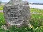 Piemiņas akmens senākajai zināmajai mūra sakrālajai vietai Baltijā 7
