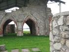 Līdz Rīgas dibināšanai 1201. gadāsvētais dievnams bija Livonijas bīskapa sēdeklis. No 1879. - 1881. gadam tas tika kapitāli pārbūvēts, taču 1916. gadā 12