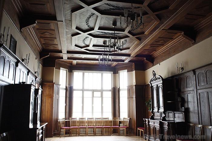 H. Frenkeļa villa būvēta 1908.gadā un tā ir vienīgā secesijos stila ēka Šauļos