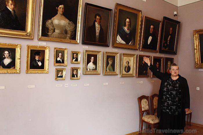 Portretu galerijā ir apskatāmas interesantas gleznas