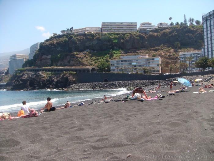 Puerto de la Cruz lavas smilšu pludmale  www.remirotravel.lv