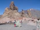 Tenerife. Teides nacionālais parks. Roques de Garcia- interesantie klints veidojumi.. Te tika filmēta