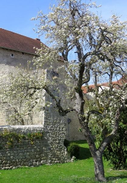 Brīnumains viduslaiku ciems Charroux gaida ciemos romantikas mīlētājus www.charroux.com 119866