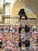 Katalonijas kasteljeri pārsteidz tūristus ar cilvēku torņiem 3