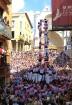 Katalonijas kasteljeri pārsteidz tūristus ar cilvēku torņiem 11