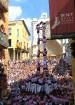 Katalonijas kasteljeri pārsteidz tūristus ar cilvēku torņiem 12