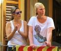 Katalonijas kasteljeri pārsteidz tūristus ar cilvēku torņiem 13
