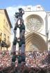 Katalonijas kasteljeri pārsteidz tūristus ar cilvēku torņiem 23