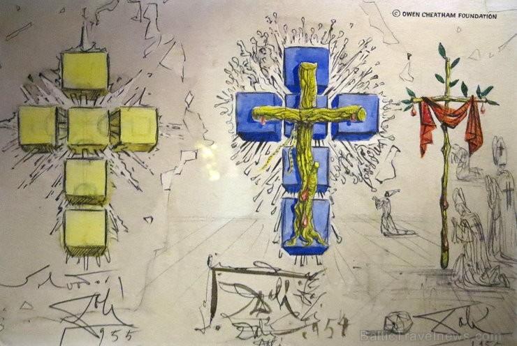 Ieskaties slavenā spāņu mākslinieka Salvadora Dali veidoto rotaslietu pasaulē 146892