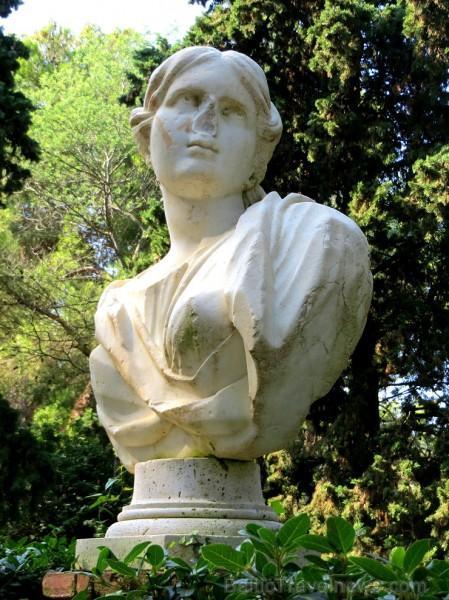 Svētās Klotildes dārzi Katalonijā apbur un vieno ar dabu www.lloretdemar.org 149921