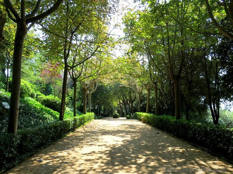 Svētās Klotildes dārzi Katalonijā apbur un vieno ar dabu www.lloretdemar.org 149923