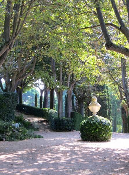 Svētās Klotildes dārzi Katalonijā apbur un vieno ar dabu www.lloretdemar.org 149926