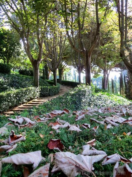Svētās Klotildes dārzi Katalonijā apbur un vieno ar dabu www.lloretdemar.org 149929