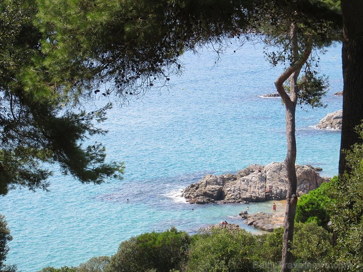 Svētās Klotildes dārzi Katalonijā apbur un vieno ar dabu www.lloretdemar.org 149931