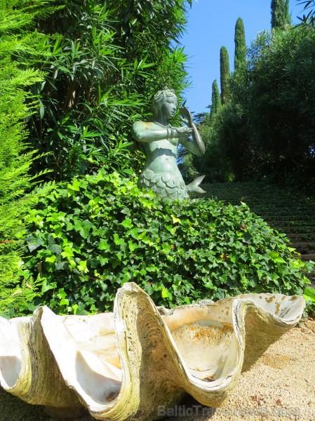 Svētās Klotildes dārzi Katalonijā apbur un vieno ar dabu www.lloretdemar.org 149937