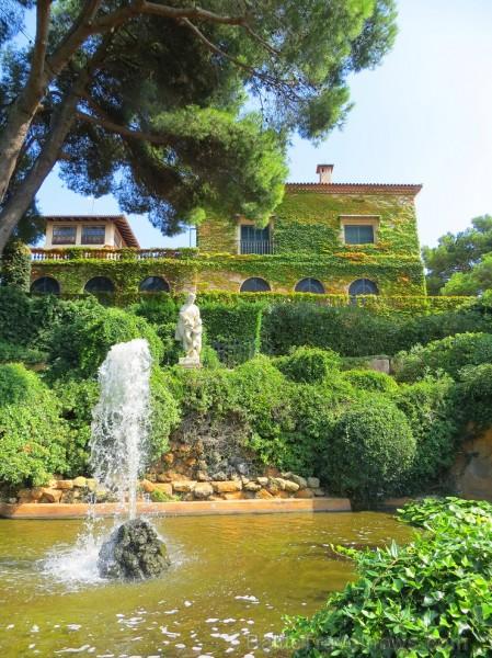 Svētās Klotildes dārzi Katalonijā apbur un vieno ar dabu www.lloretdemar.org 149947