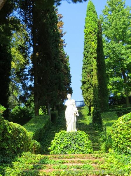 Svētās Klotildes dārzi Katalonijā apbur un vieno ar dabu www.lloretdemar.org 149955
