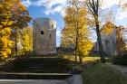 Cēsis ir brīnišķīga pilsēta zelta rudens baudīšanai 2