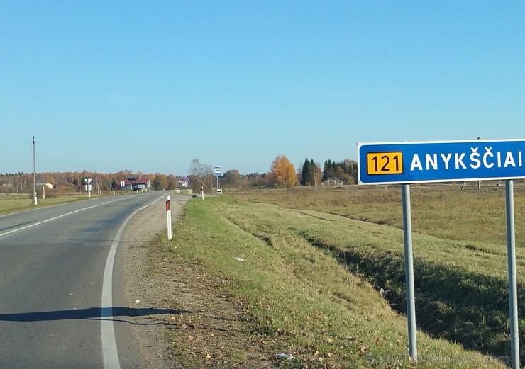 Travelnews.lv sadarbībā ar autonomu Sixt.lv dodas iepazīst Lietuvas koku galotņu taku, kas atrodas 60 km no Paņevežas jeb 10 km no Anīkščai