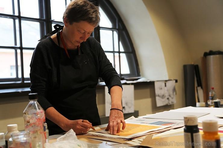 Daugavpils Marka Rotko mākslas centrā norisinās 5. starptautiskais Latgales grafikas simpozijs