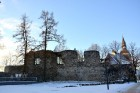Valmiera ar Gauju līkumotu - pilsētas iedzīvotājus priecē skaisti un sniegoti skati 3