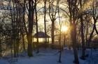 Valmiera ar Gauju līkumotu - pilsētas iedzīvotājus priecē skaisti un sniegoti skati 18