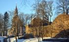 Valmiera ar Gauju līkumotu - pilsētas iedzīvotājus priecē skaisti un sniegoti skati 6