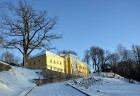 Valmiera ar Gauju līkumotu - pilsētas iedzīvotājus priecē skaisti un sniegoti skati 9