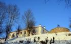Valmiera ar Gauju līkumotu - pilsētas iedzīvotājus priecē skaisti un sniegoti skati 10