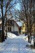 Valmiera ar Gauju līkumotu - pilsētas iedzīvotājus priecē skaisti un sniegoti skati 11