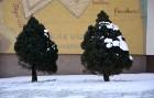 Valmiera ar Gauju līkumotu - pilsētas iedzīvotājus priecē skaisti un sniegoti skati 12