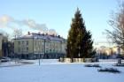 Valmiera ar Gauju līkumotu - pilsētas iedzīvotājus priecē skaisti un sniegoti skati 13