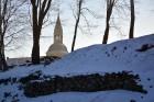 Valmiera ar Gauju līkumotu - pilsētas iedzīvotājus priecē skaisti un sniegoti skati 14