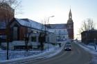 Valmiera ar Gauju līkumotu - pilsētas iedzīvotājus priecē skaisti un sniegoti skati 15