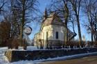 Valmiera ar Gauju līkumotu - pilsētas iedzīvotājus priecē skaisti un sniegoti skati 2