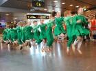 Starptautiskā lidosta «Rīga» sagaida 19.04.2017 pasažieri no Zviedrijas ar numuru 60 000 000 10