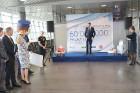 Starptautiskā lidosta «Rīga» sagaida 19.04.2017 pasažieri no Zviedrijas ar numuru 60 000 000 11