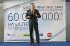 Starptautiskā lidosta «Rīga» sagaida 19.04.2017 pasažieri no Zviedrijas ar numuru 60 000 000 16