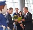 Starptautiskā lidosta «Rīga» sagaida 19.04.2017 pasažieri no Zviedrijas ar numuru 60 000 000 17